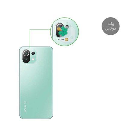 خرید پک دوتایی محافظ لنز نانو سرامیک گوشی شیائومی Xiaomi Mi 11 Lite / 5G
