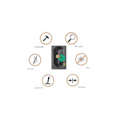 خرید پک دوتایی محافظ لنز نانو سرامیک گوشی شیائومی Mi A2 Lite / Redmi 6 Pro