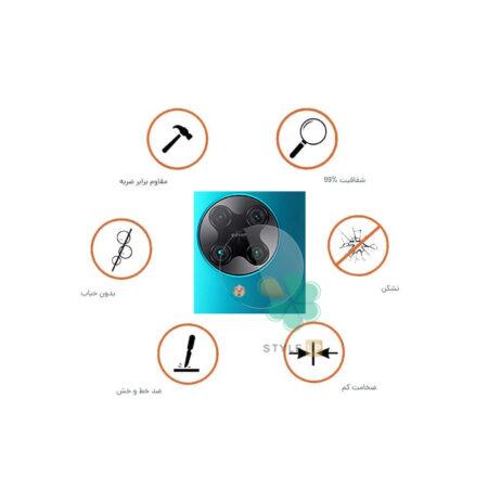 خرید پک دوتایی محافظ لنز نانو سرامیک گوشی شیائومی Poco F2 Pro