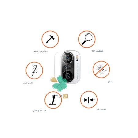 خرید پک دوتایی محافظ لنز نانو سرامیک گوشی شیائومی Redmi K40 Pro Plus