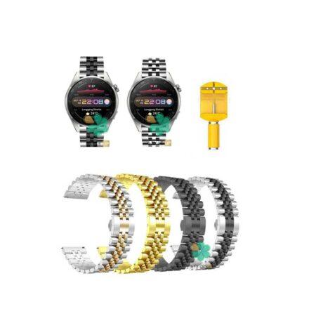 قیمت بند فلزی ساعت هواوی واچ Huawei Watch 3 Pro مدل 5Rows