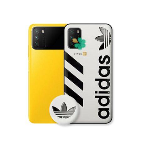 خرید قاب گوشی شیائومی Xiaomi Poco M3 طرح آدیداس
