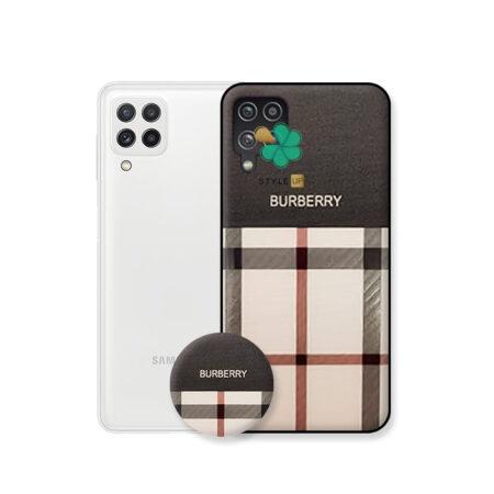 خرید Buy-Price-Burberry Pattern Cover Case for Samsung Galaxy A22 4G