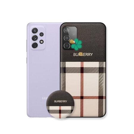 خرید قاب گوشی سامسونگ Samsung A52 طرح Burberry