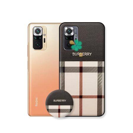 خرید قاب گوشی شیائومی Xiaomi Redmi Note 10 Pro طرح Burberry