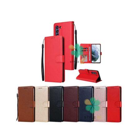 قیمت کیف چرم گوشی سامسونگ Galaxy S21 مدل ایمپریال قفل دار