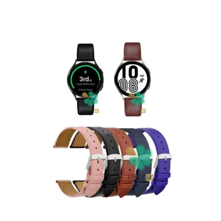 قیمت بند ساعت سامسونگ Galaxy Watch 4 مدل Fancy Leather