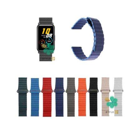 قیمت بند چرمی ساعت هانر واچ Honor Watch ES مدل Leather Loop