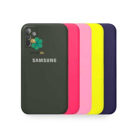 خرید کاور گوشی سامسونگ Samsung Galaxy A52s مدل سیلیکونی محافظ لنز دار