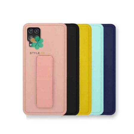خرید کاور گوشی سامسونگ Galaxy A12 Nacho مدل سیلیکونی هولدردار