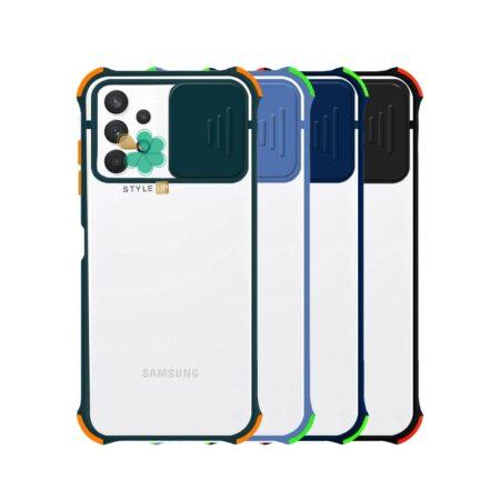 خرید قاب گوشی سامسونگ Samsung A32 5G مدل پشت مات بامپر دار
