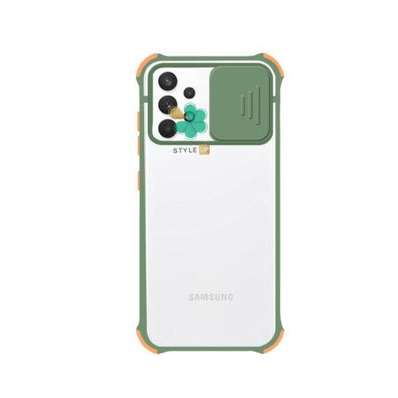 خرید قاب گوشی سامسونگ Samsung A52 مدل پشت مات بامپر دار