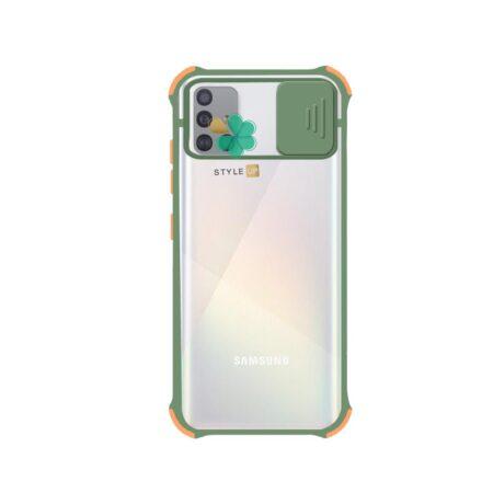 خرید قاب گوشی سامسونگ Samsung Galaxy A71 مدل پشت مات بامپر دار