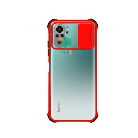 خرید قاب گوشی شیائومی Xiaomi Redmi Note 10 مدل پشت مات بامپر دار