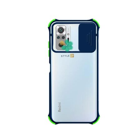 خرید قاب گوشی شیائومی Redmi Note 10 Pro مدل پشت مات بامپر دار