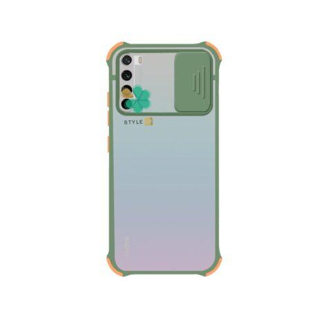 خرید کاور گوشی شیائومی Redmi Note 8 2021 مدل پشت مات بامپر دار