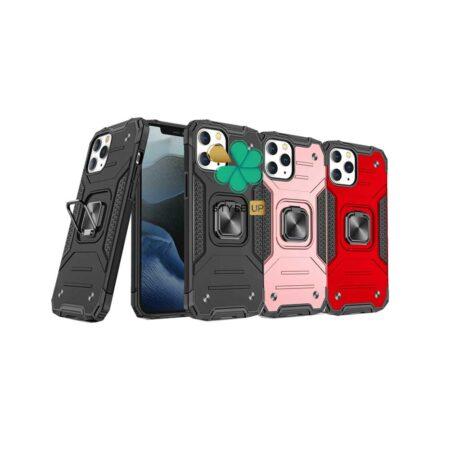خرید قاب ضد ضربه رینگ دار گوشی اپل آیفون iPhone 11 Pro Max طرح مگاترون