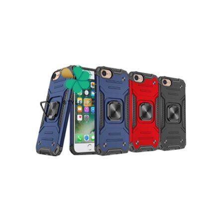 خرید قاب ضد ضربه رینگ دار گوشی اپل آیفون iPhone 7 Plus / 8 Plus طرح مگاترون