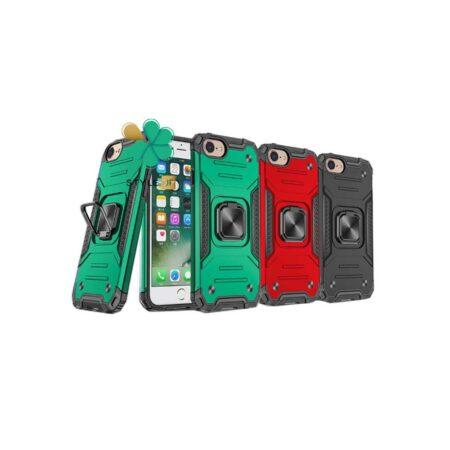 خرید قاب ضد ضربه رینگ دار گوشی اپل آیفون iPhone SE 2020 طرح مگاترون
