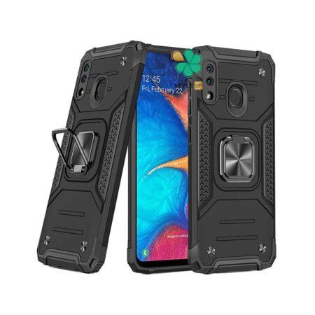خرید قاب ضد ضربه رینگ دار گوشی سامسونگ Samsung A10s طرح مگاترون