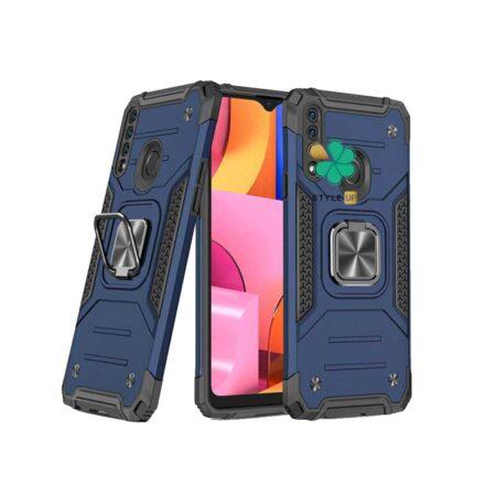 خرید قاب ضد ضربه رینگ دار گوشی سامسونگ Samsung A20s طرح مگاترون