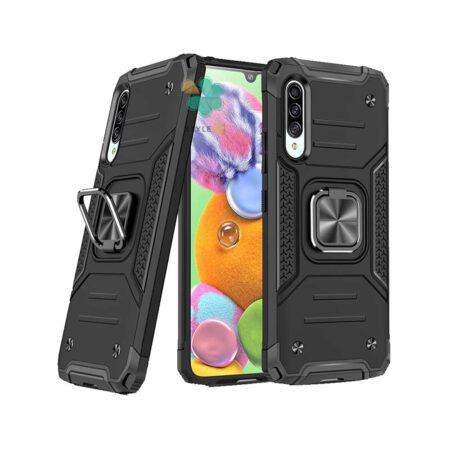 خرید قاب ضد ضربه رینگ دار گوشی سامسونگ Samsung A30s / A50s طرح مگاترون