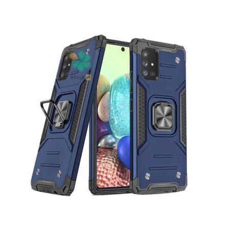 خرید قاب ضد ضربه رینگ دار گوشی سامسونگ Samsung A51 طرح مگاترون