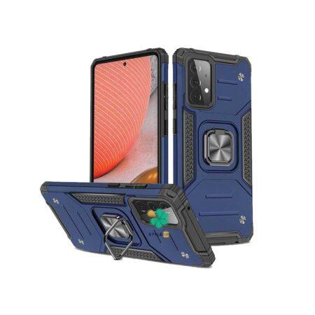 خرید قاب ضد ضربه رینگ دار گوشی سامسونگ Samsung A52s 5G طرح مگاترون