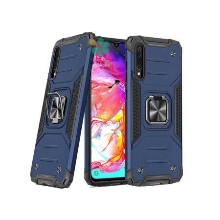 خرید قاب ضد ضربه رینگ دار گوشی سامسونگ Samsung A70 طرح مگاترون