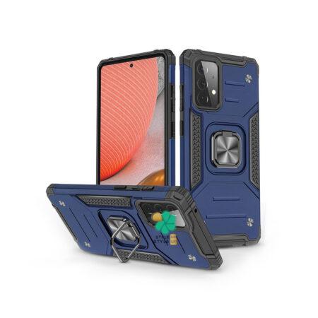 خرید قاب ضد ضربه رینگ دار گوشی سامسونگ Samsung A72 طرح مگاترون