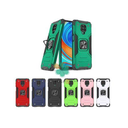 قیمت قاب ضد ضربه رینگ دار گوشی شیائومی Redmi Note 9s / 9 Pro طرح مگاترون