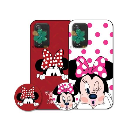 خرید کاور گوشی سامسونگ Samsung Galaxy A52s طرح Minnie Mouse