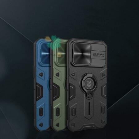 عکس قاب محافظ نیلکین گوشی اپل iPhone 13 Pro مدل CamShield Armor