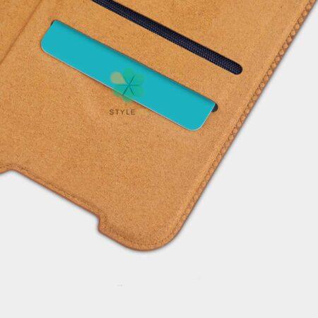 خرید کیف چرمی نیلکین گوشی سامسونگ Samsung Galaxy M32 5G مدل Qin