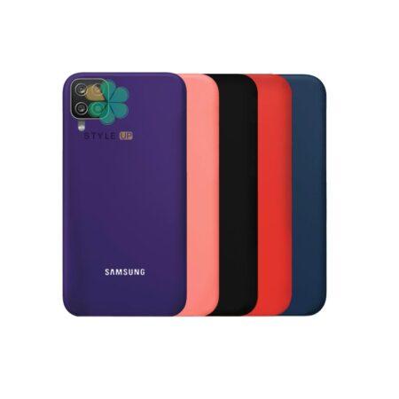 خرید قاب سیلیکونی اصل گوشی سامسونگ Samsung Galaxy A12 Nacho
