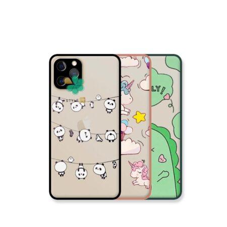 قیمت کاور پشت مات گوشی ایفون iPhone 12 Pro Max مدل دکمه رنگی طرح دار