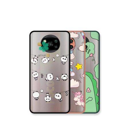 خرید کاور پشت مات گوشی شیائومی Xiaomi Poco X3 مدل دکمه رنگی طرح دار