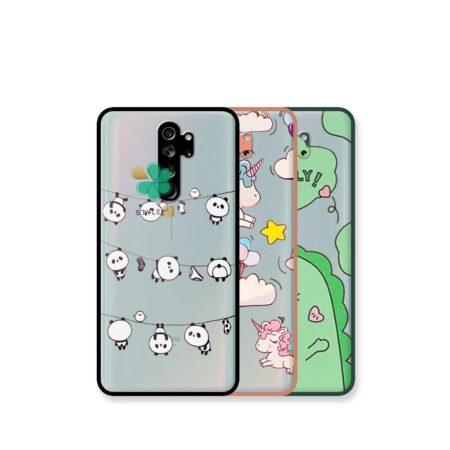 خرید کاور پشت مات گوشی شیائومی Xiaomi Redmi Note 8 Pro مدل دکمه رنگی طرح دار