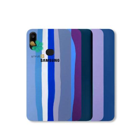 خرید قاب سیلیکونی گوشی سامسونگ Samsung Galaxy A10s مدل رنگین کمان