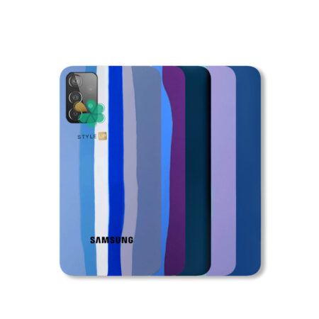 خرید قاب سیلیکونی گوشی سامسونگ Samsung Galaxy A72 مدل رنگین کمان