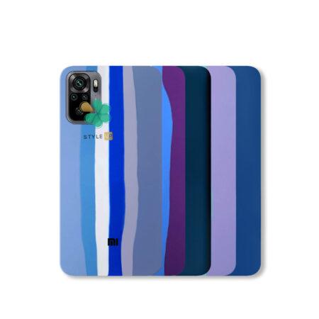 خرید قاب سیلیکونی گوشی شیائومی Xioami Redmi Note 10 مدل رنگین کمان
