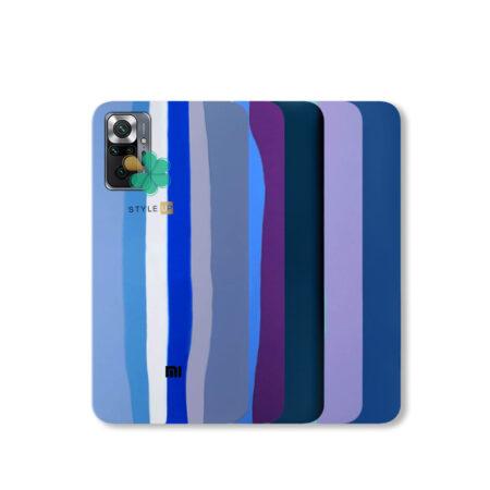 خرید قاب سیلیکونی گوشی شیائومی Xioami Redmi Note 10 Pro مدل رنگین کمان