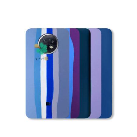 خرید قاب سیلیکونی گوشی شیائومی Xioami Redmi Note 9T 5G مدل رنگین کمان