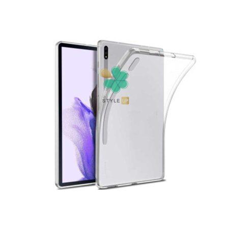 خرید قاب تبلت سامسونگ Samsung Galaxy Tab S7 FE مدل ژله ای شفاف