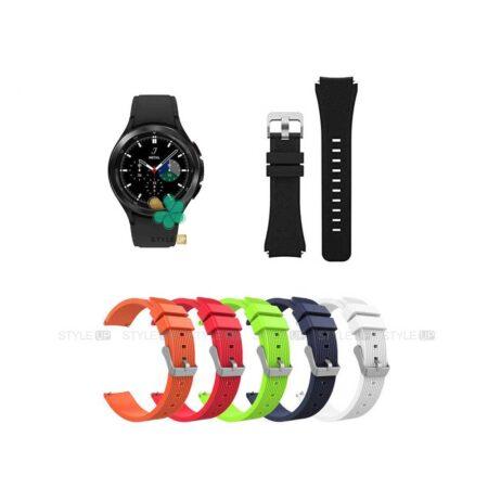 خرید بند سیلیکونی ساعت سامسونگ Galaxy Watch 4 Classic طرح گلکسی