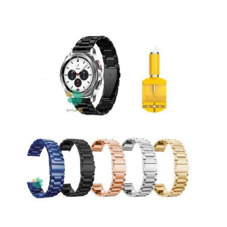 خرید بند ساعت سامسونگ Samsung Galaxy Watch 4 Classic استیل 3Pointers