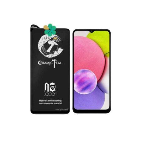 قیمت گلس سرامیکی مات گوشی سامسونگ Samsung Galaxy A03s برند Mietubl