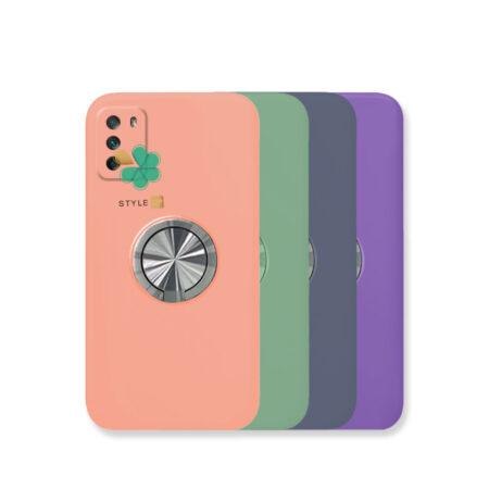 خرید قاب سیلیکونی رینگ دار گوشی شیائومی Xiaomi Poco M3