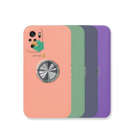 خرید قاب سیلیکونی رینگ دار گوشی شیائومی Xiaomi Redmi Note 10
