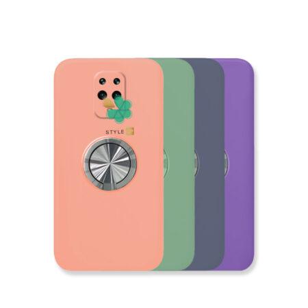 خرید قاب سیلیکونی رینگ دار گوشی شیائومی Redmi Note 9s / 9 Pro